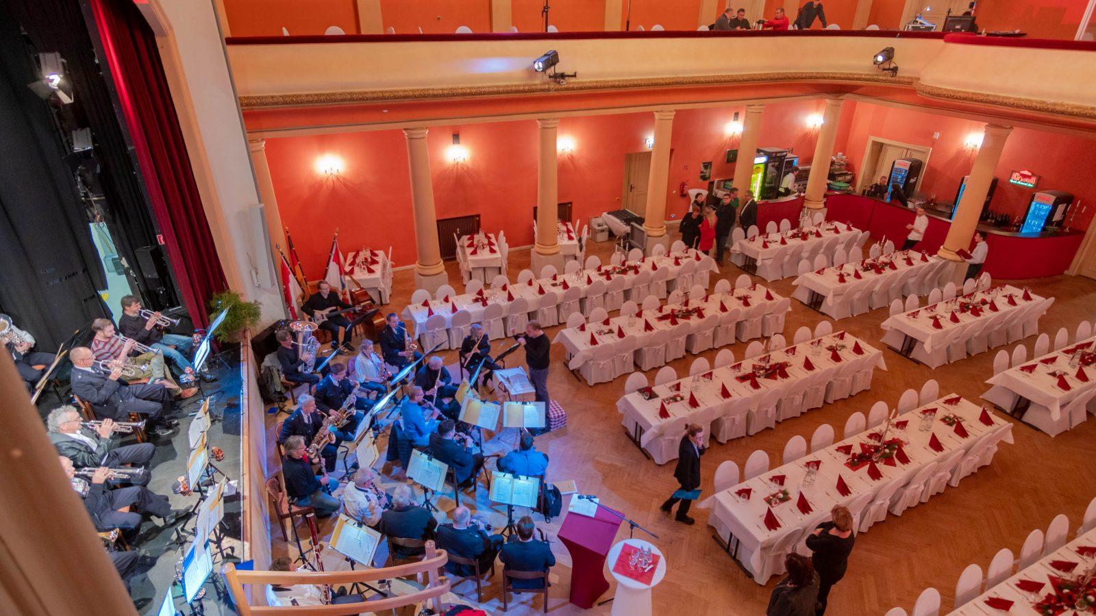 Feierlichkeit im Großen Saal